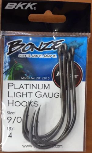 Bonze Platinum 9/0 Hook