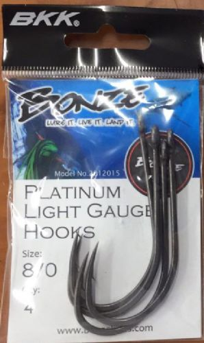 Bonze Platinum 8/0 Light Hook